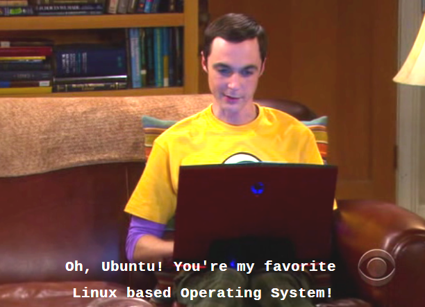 Sheldon and Ubuntu