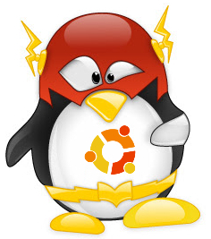 flash-tux-ubuntu